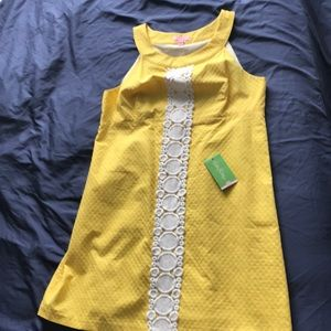 Lilly original New/never worn yellow dress